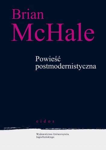 Okładka książki Powieść postmodernistyczna