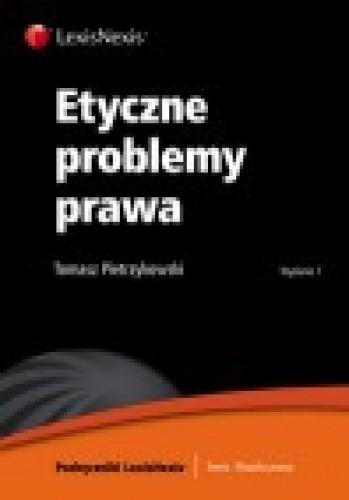Okładka książki Etyczne problemy prawa