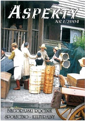 Okładka książki Aspekty nr 1/2004. Biłgorajski rocznik społeczno - kulturalny