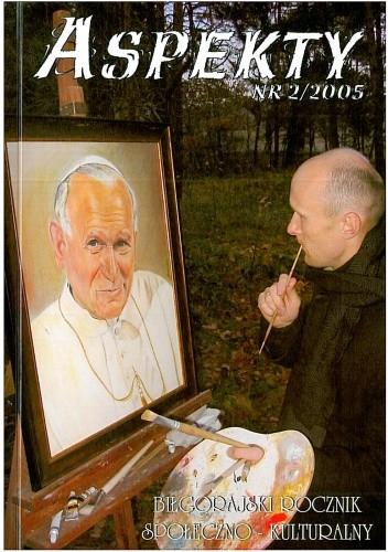 Okładka książki Aspekty nr 2/2005. Biłgorajski rocznik społeczno - kulturalny