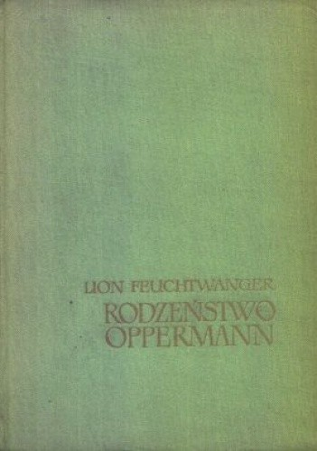 Okładka książki Rodzeństwo Oppermann