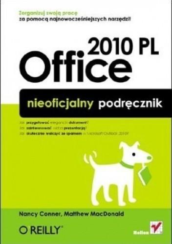 Okładka książki Office 2010 PL nieoficjalny podręcznik