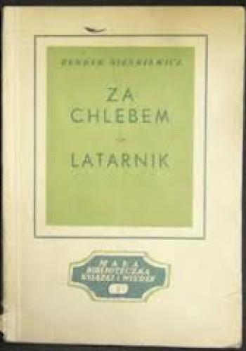 Okładka książki Za chlebem. Latarnik
