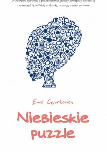 Okładka książki Niebieskie puzzle