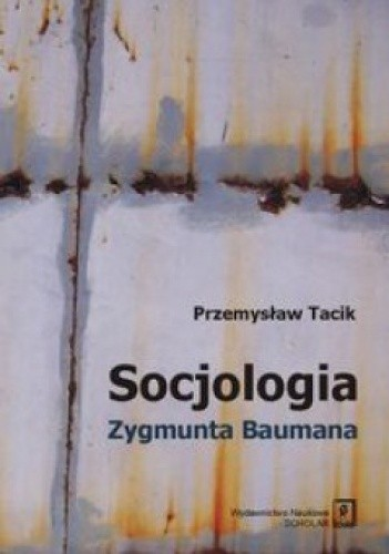 Okładka książki Socjologia Zygmunta Baumana