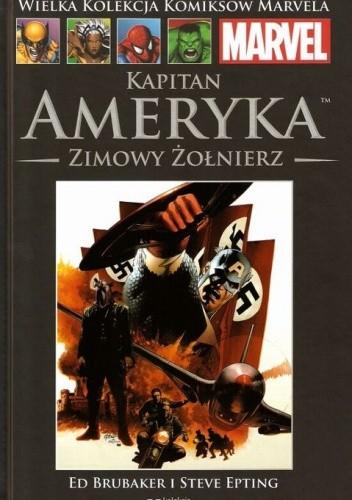 Okładka książki Kapitan Ameryka: Zimowy żołnierz