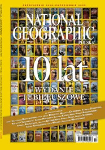 Okładka książki National Geographic 10/2009 (121)