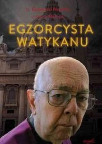 Okładka książki Egzorcysta Watykanu