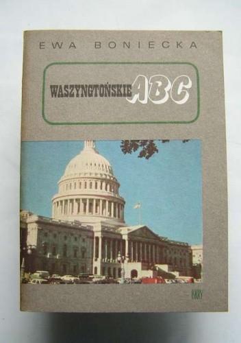 Okładka książki Waszyngtońskie ABC