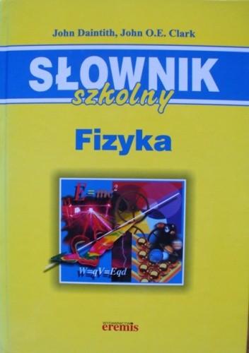 Okładka książki Słownik szkolny. Fizyka