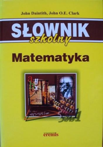 Okładka książki Słownik szkolny. Matematyka