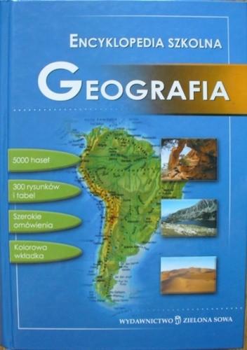 Okładka książki Encyklopedia szkolna. Geografia