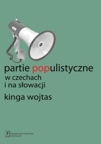 Okładka książki Partie populistyczne w Czechach i na Słowacji