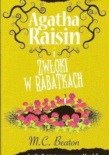 Okładka książki Agatha Raisin i zwłoki w rabatkach