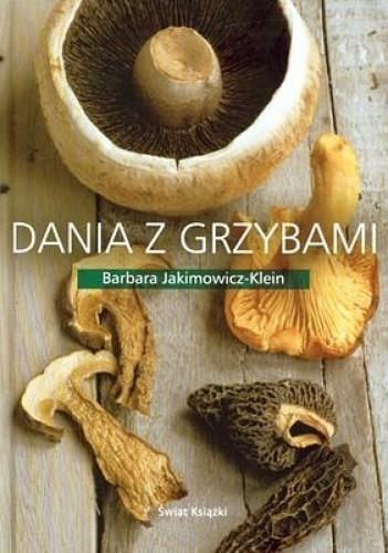 Okładka książki Dania z grzybami
