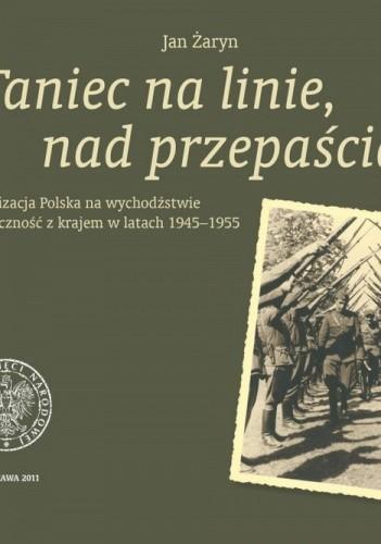 Okładka książki Taniec na linie, nad przepaścią