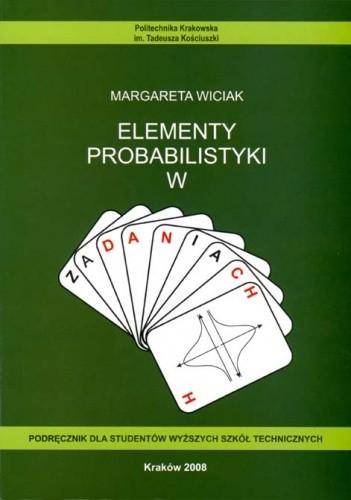 Okładka książki Elementy probabilistyki w zadaniach
