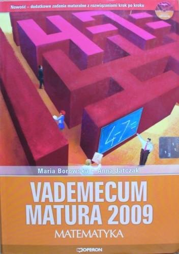 Okładka książki Vademecum Matura 2009. Matematyka