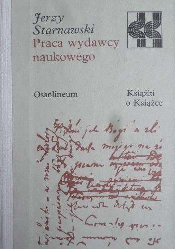 Okładka książki Praca wydawcy naukowego