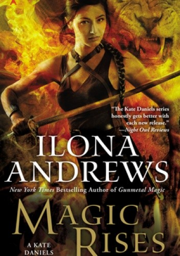 Okładka książki Magic Rises