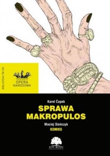 Okładka książki Sprawa Makropulos