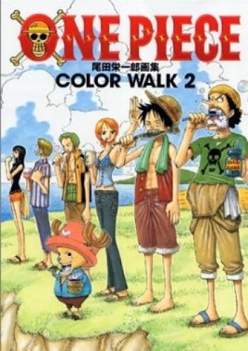 Okładka książki One Piece. Color Walk 2
