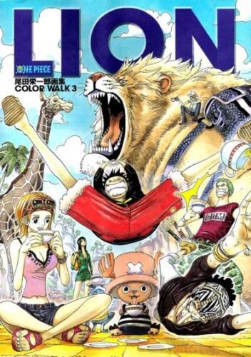 Okładka książki One Piece. Color Walk 3. Lion