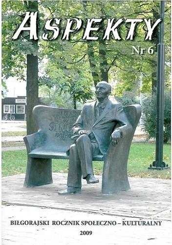 Okładka książki Aspekty nr 6. Biłgorajski rocznik społeczno - kulturalny 2009