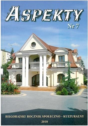 Okładka książki Aspekty nr 7. Biłgorajski rocznik społeczno - kulturalny 2010
