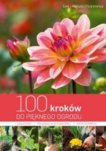 Okładka książki 100 kroków do pięknego ogrodu