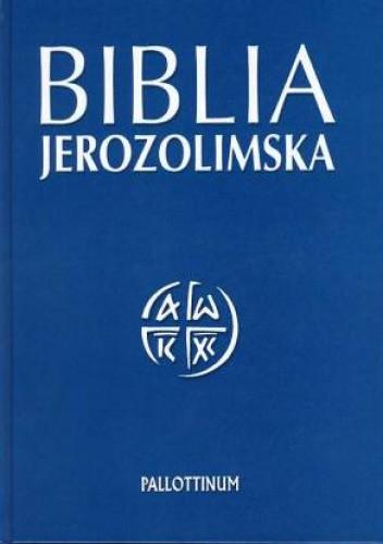 Okładka książki Biblia Jerozolimska