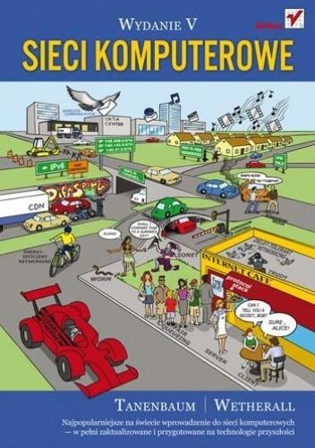 Okładka książki Sieci komputerowe. Wydanie V