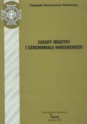 Okładka książki Zasady musztry i ceremoniału harcerskiego