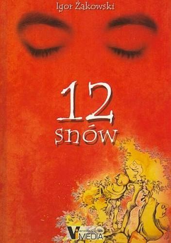Okładka książki 12 snów