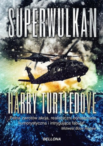 Okładka książki Superwulkan. Wybuch