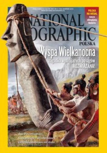 Okładka książki National Geographic 08/2012 (155)