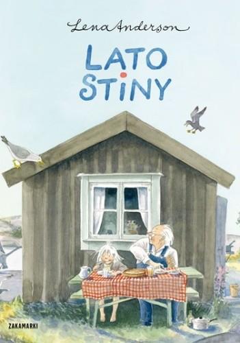 Okładka książki Lato Stiny