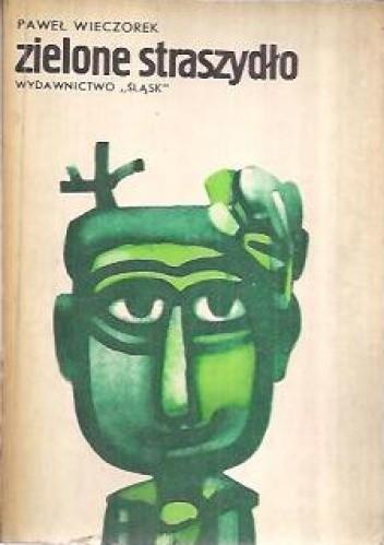 Okładka książki Zielone straszydło. Opowieści przy ognisku