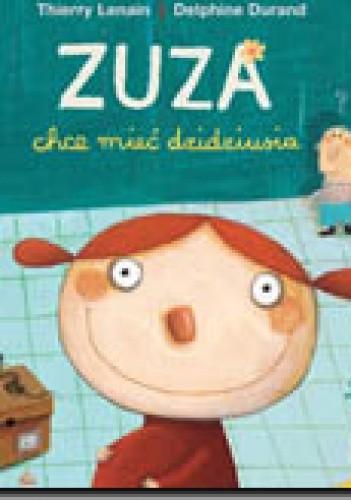 Okładka książki Zuza chce mieć dzidziusia