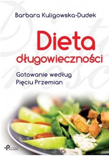 Okładka książki Dieta długowieczności. Gotowanie według Pięciu Przemian