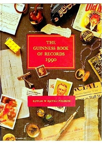 Okładka książki Księga rekordów Guinnessa