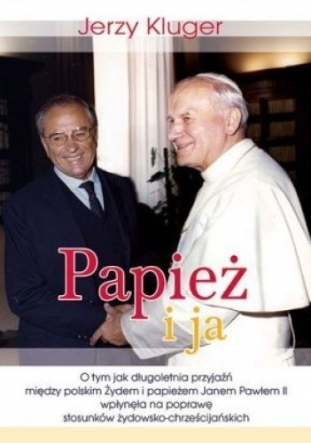 Okładka książki Papież i ja