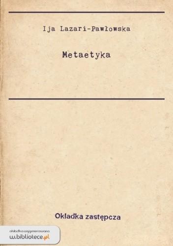Okładka książki Metaetyka
