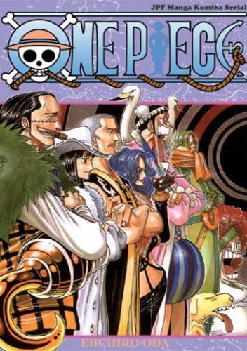 Okładka książki One Piece tom 21 - Utopia