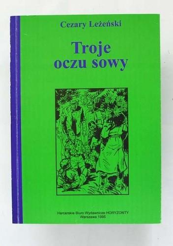 Okładka książki Troje oczu sowy