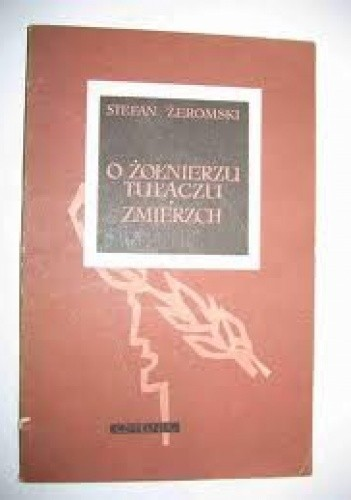 Okładka książki O żołnierzu tułaczu. Zmierzch