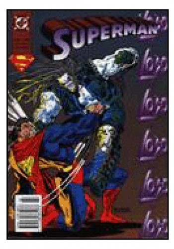 Okładka książki Superman 2/1997