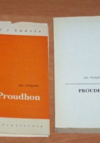 Okładka książki Proudhon