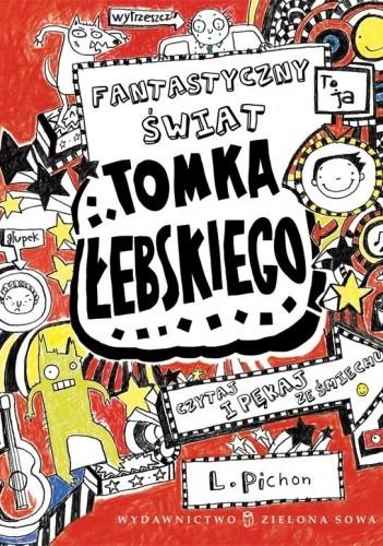 Okładka książki Fantastyczny świat Tomka Łebskiego