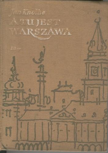 Okładka książki A tu jest Warszawa